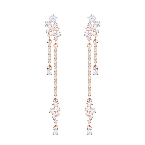 Küpe Swarovski Küpe MoonSun Pierced Earrings Drop CZWH/ROS 5486635