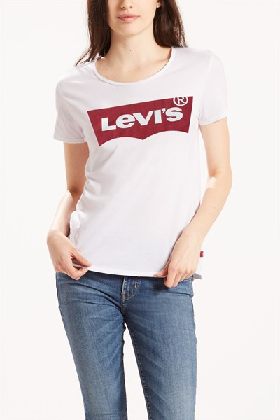 PERFECT TEE LARGE BATWING WHITE