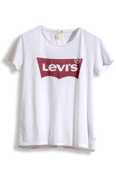 T-Shirt PERFECT TEE LARGE BATWING WHITE