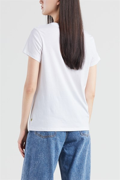 T-Shirt PERFECT TEE PEANUTS HSMK CHEST WHIT