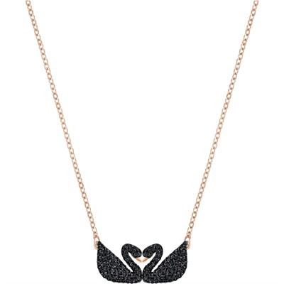 Swarovski Kolye İconic Swan Necklace Double 5296468